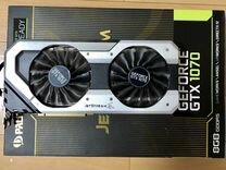 Видеокарта Palit JetStrem GeForce GTX 1070 8Гб