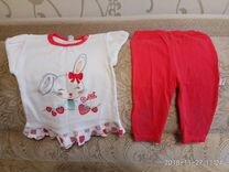 Пакет вещей на девочку размер 68-74-80
