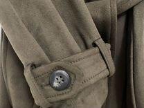 Тренч Зара Zara из замши — Одежда, обувь, аксессуары в Москве