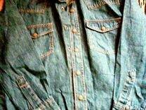 Рубашка джинцевая — Детская одежда и обувь в Геленджике